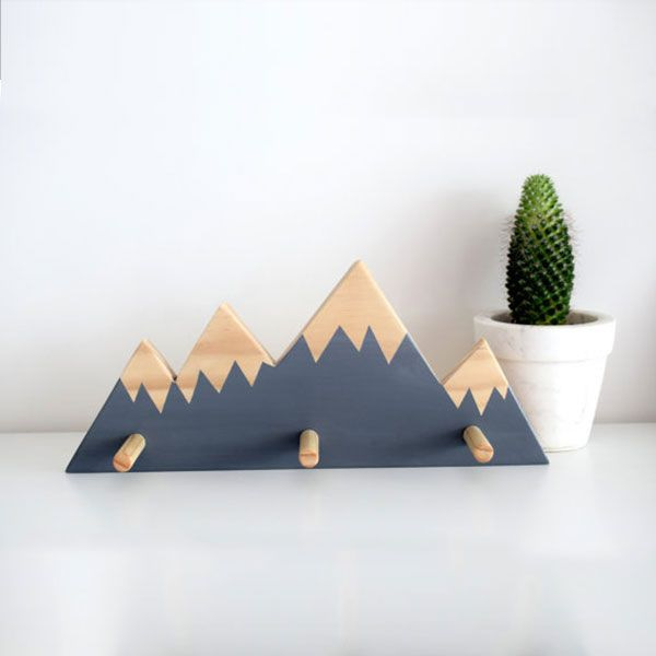 Mountain Peak Wall Hooks