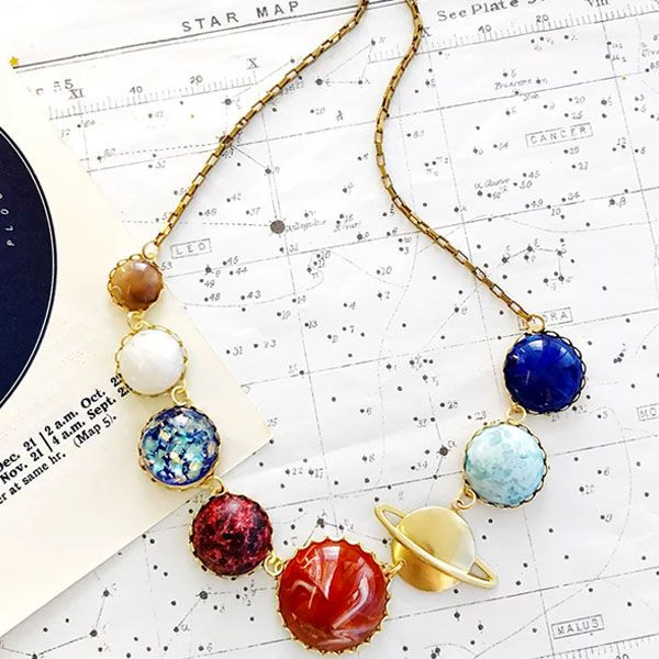 product image for Solar System Necklace