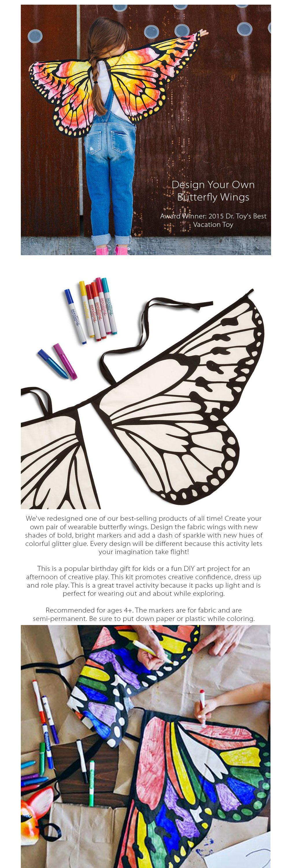 Diy Butterfly Wings Apollobox