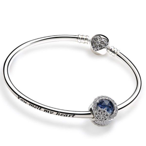 DIY Charm Bangle Bracelet