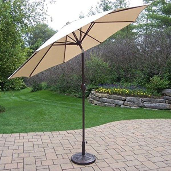 10 Ft Tilt Outdoor Umbrella