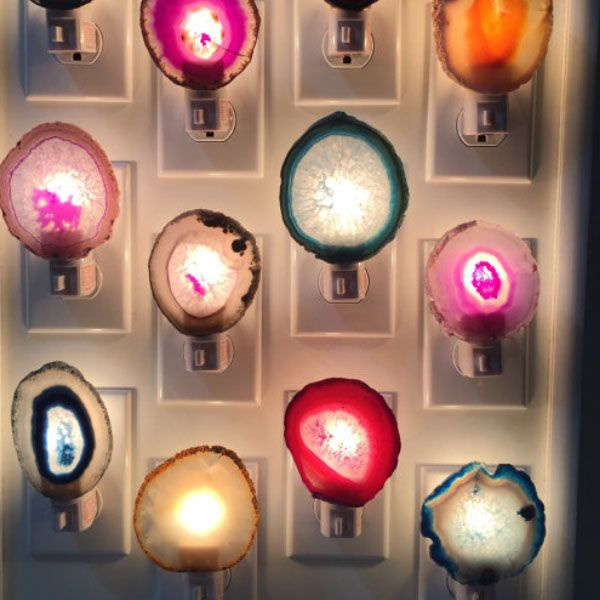 product image for Agate Slice Night Lights