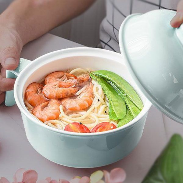 product image for Oil Resistant Ceramic Noodles Bowl