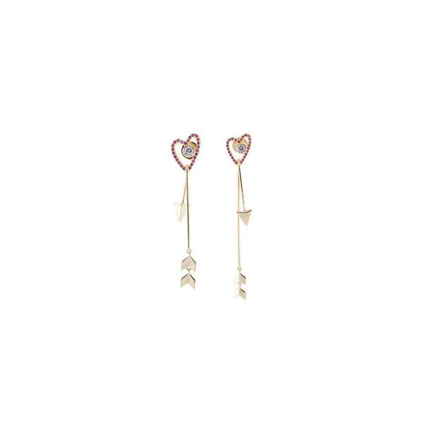 product image for Heart & Arrow Drop Earrings