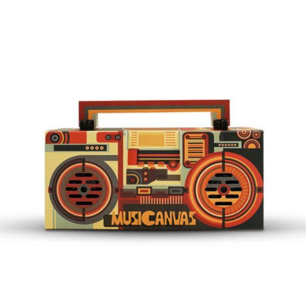 Musicanvas Poster Bluetooth Radio