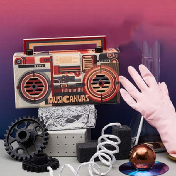 product image for Musicanvas Poster Bluetooth Radio