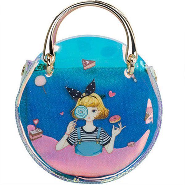 Maiden Transparent Crossbody Bag