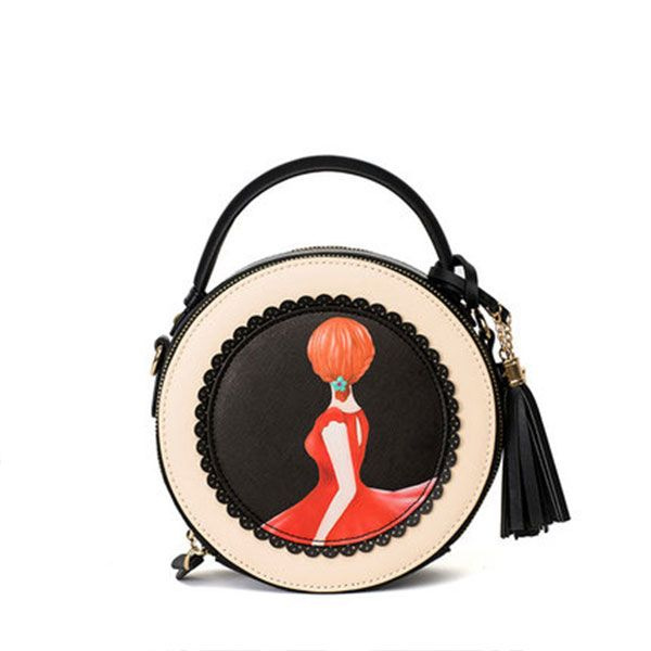 product image for Retro Art Round Handbag