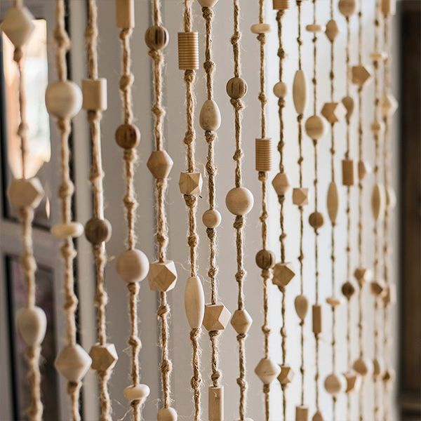 product thumbnail image for Wood Bead Curtain