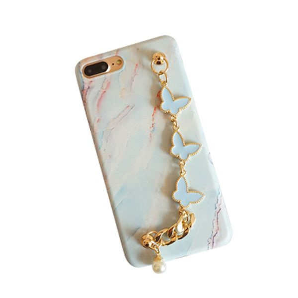 iPhone Case with Butterfly Chain