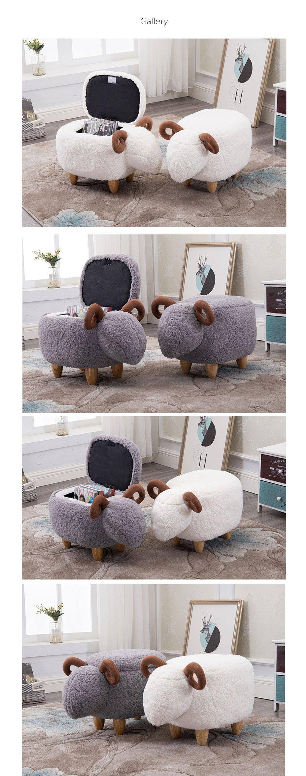 Creative Sheep Shoe Stool Sheep Stool