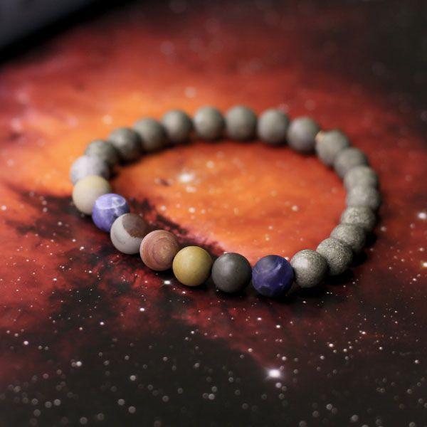 Planets Plus Pluto Necklace & Bracelet
