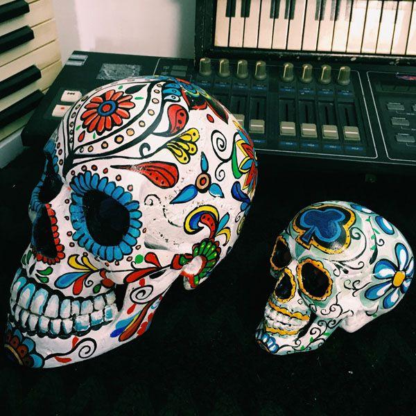 Hand-Painted Skulls