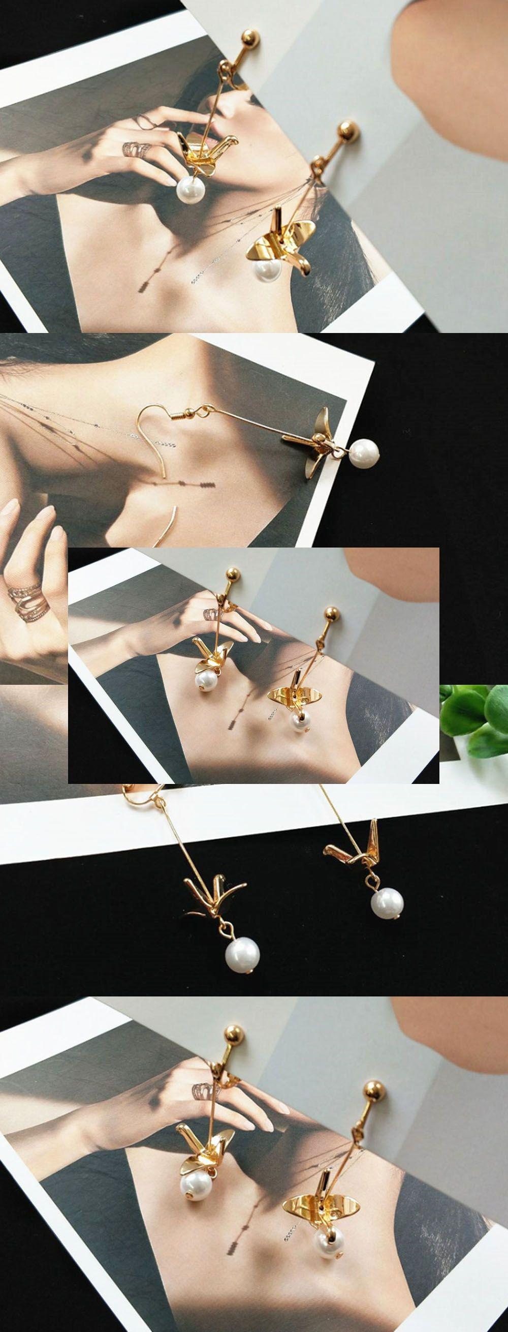 Crane Earrings Elegant Earrings