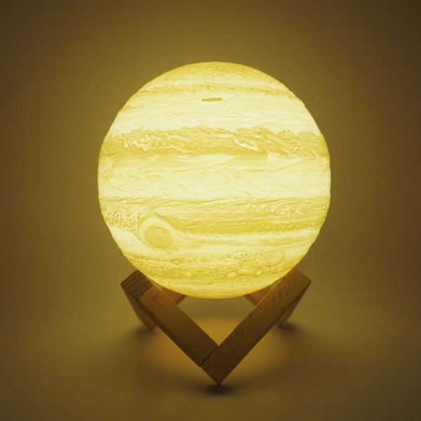 product image for 3D Printed Jupiter Lamp