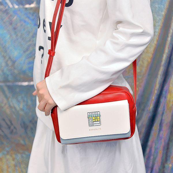 product image for Color Block Messenger Bag