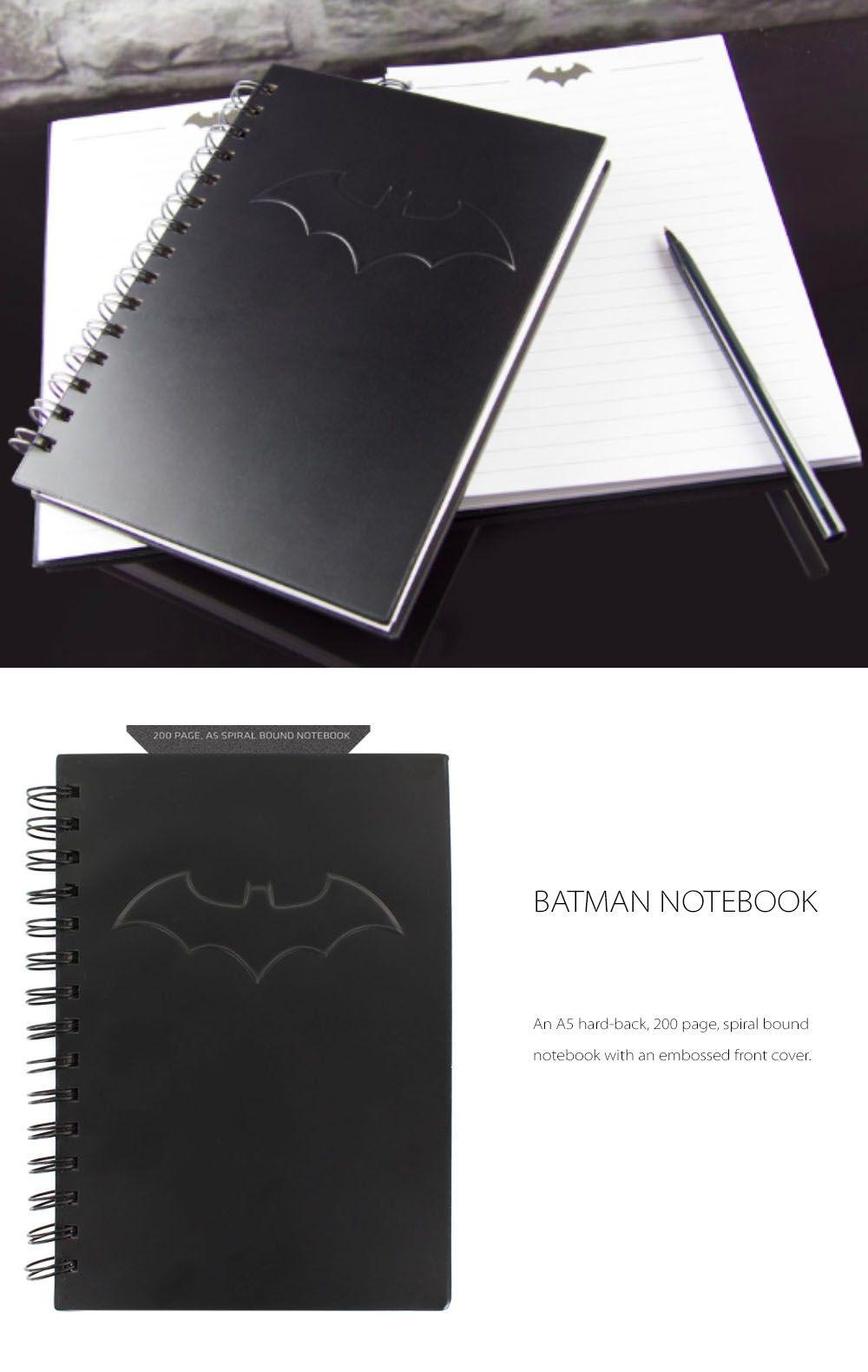 Batman Logo A5 Notebook Capture Your Memories