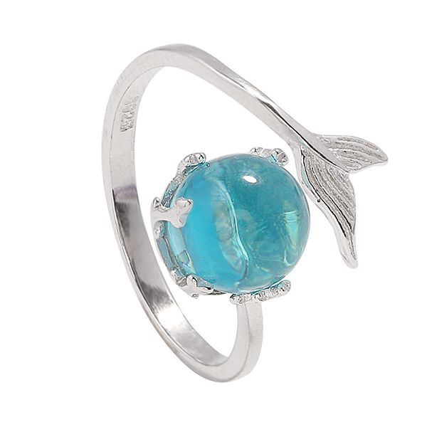 product image for Sterling Silver Mermaid Wrap Ring