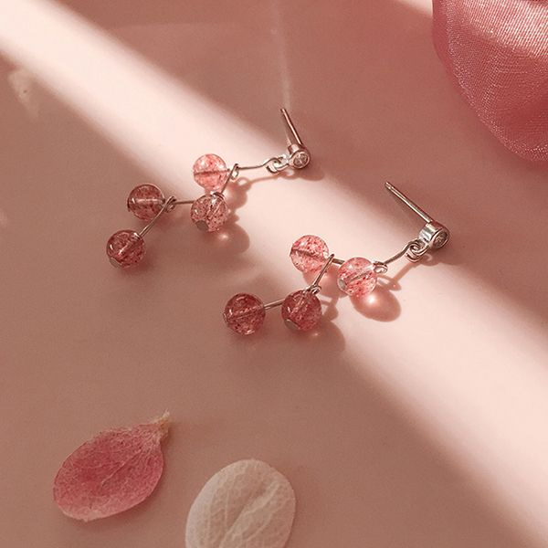 product image for Strawberry Quartz Earrings