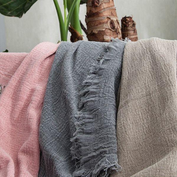 Nordic Style Throw Blanket