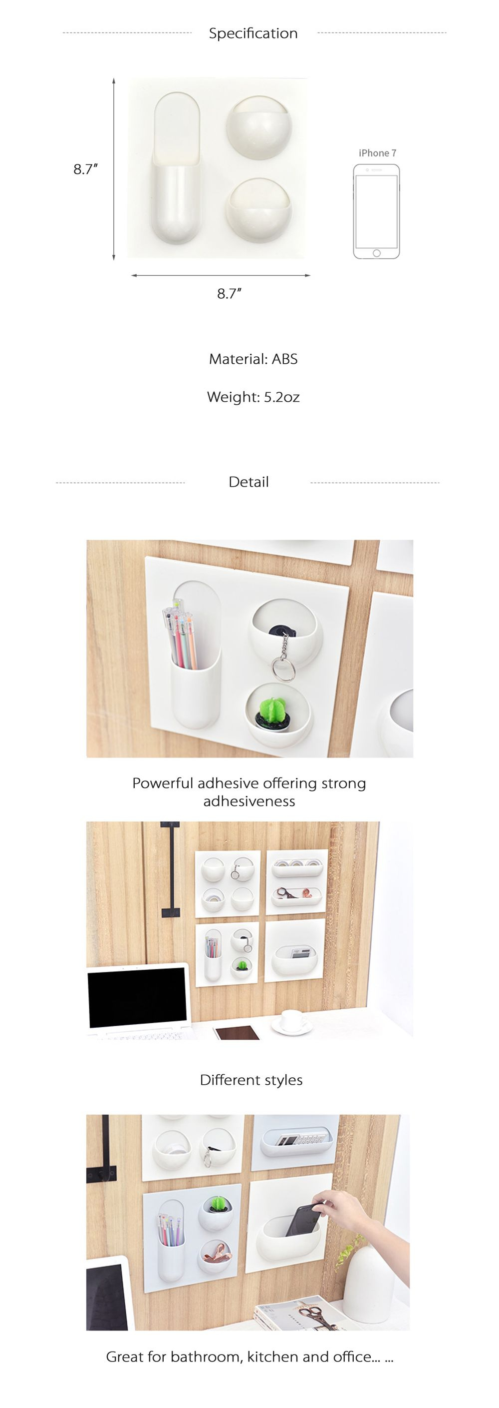 Wall Storage Must-have Organizers