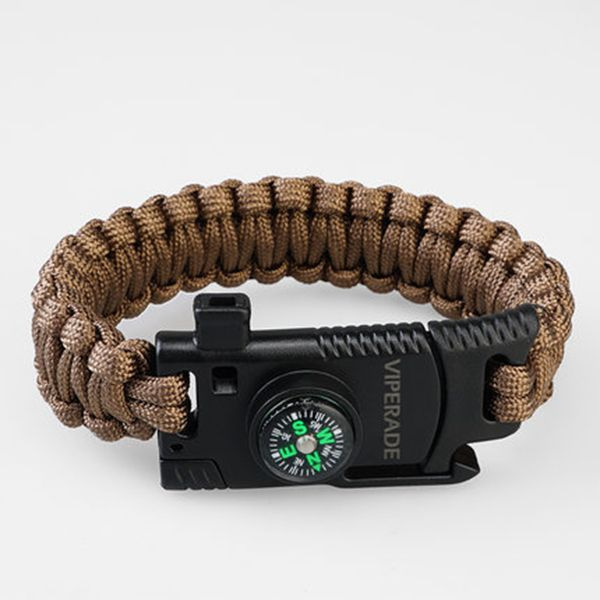product image for Viperade Paracord Compass Bracelet
