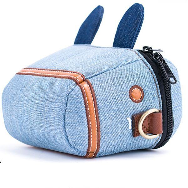Denim Pony Camera Bag
