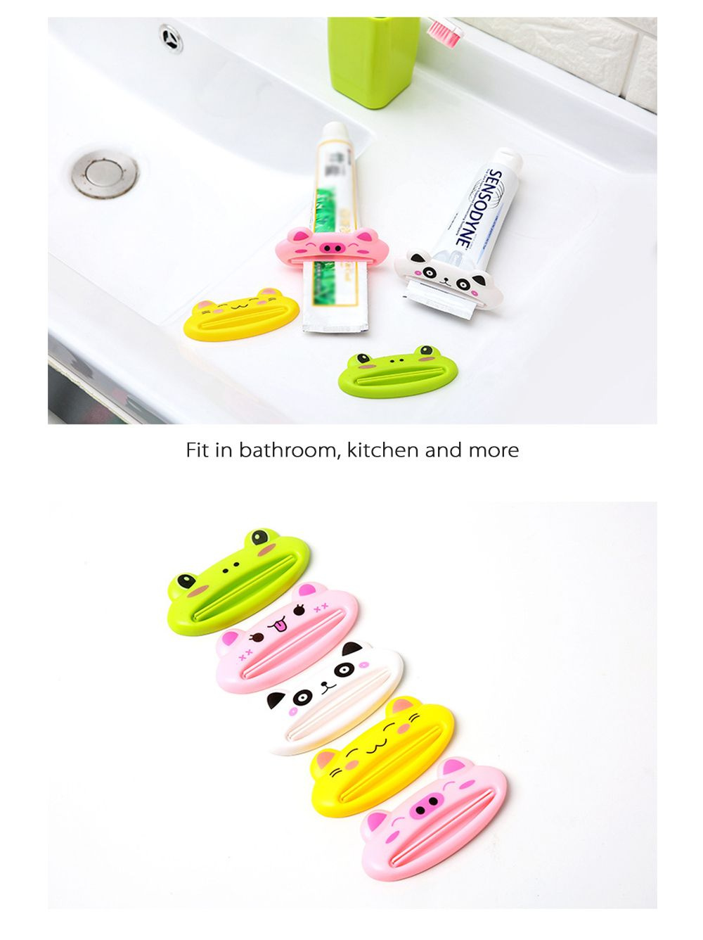 Cartoon Toothpaste Squeezer Animal Shape Collection