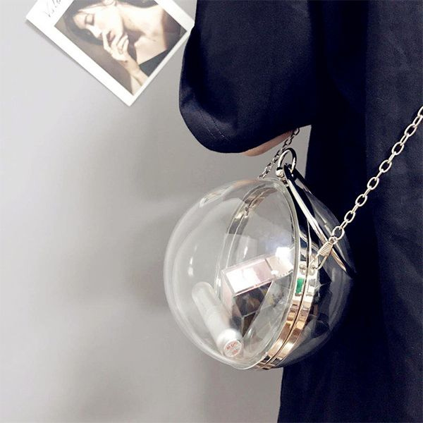 Mini Clear Ball Crossover Bag