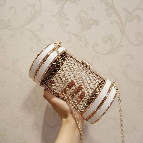 product thumbnail image for Cylinder Cage Handbag