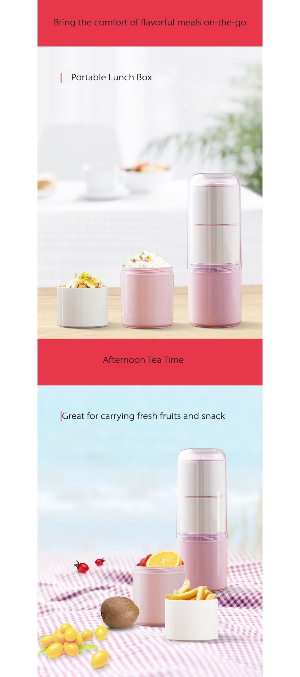 Creative Capsule Bento Box Have a Hot Lunch