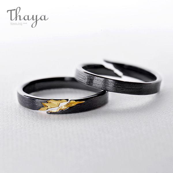 Thaya Golden Crack Treasure Ring