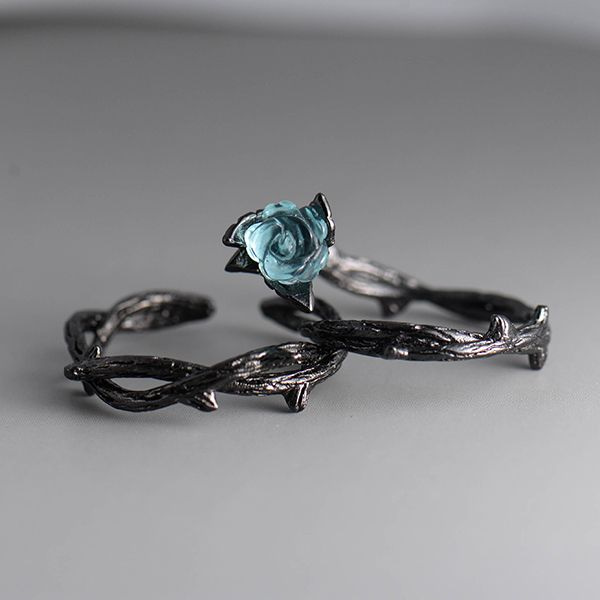 product image for Vintage Rose and Thorn Rings