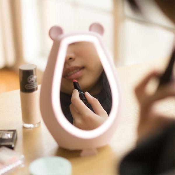 product image for LED Digital Display Clock Mirror & Speaker