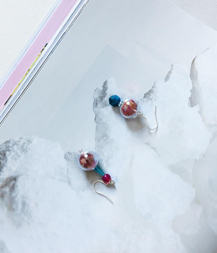 Rose earrings Rose Earrings