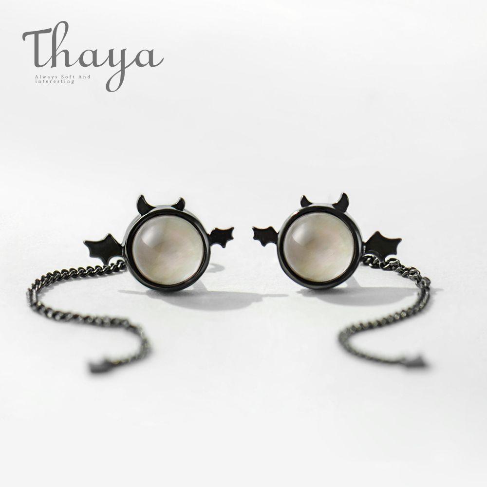 Thaya Devil Dangler Earrings