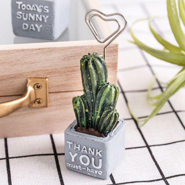 Cute Cactus Card Holders