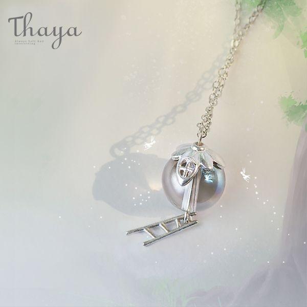 Thaya Elf House Pendant Necklace