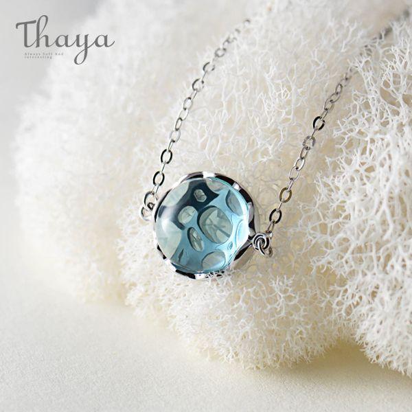 Thaya Ocean Ripple Pendant Necklace
