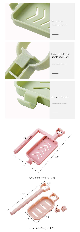 Kitchen Supplies Plastic Storage Rack Bathroom or Kitchen