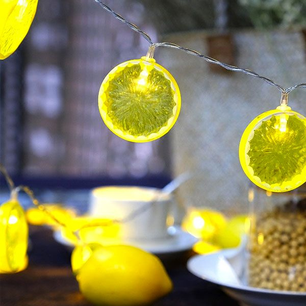 Fruit String Lights