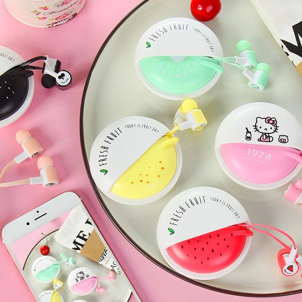 Macaron Earbuds with Case