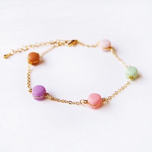 Mini Rainbow Macaron Bracelet
