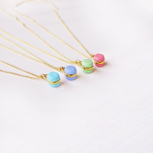 product image for Mini Mint Macaron Necklace