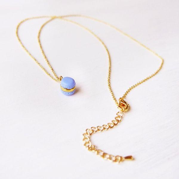 product image for Mini Purple Macaron Necklace