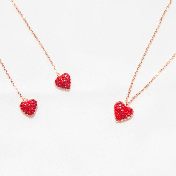 Love Heart Sliver Jewelry