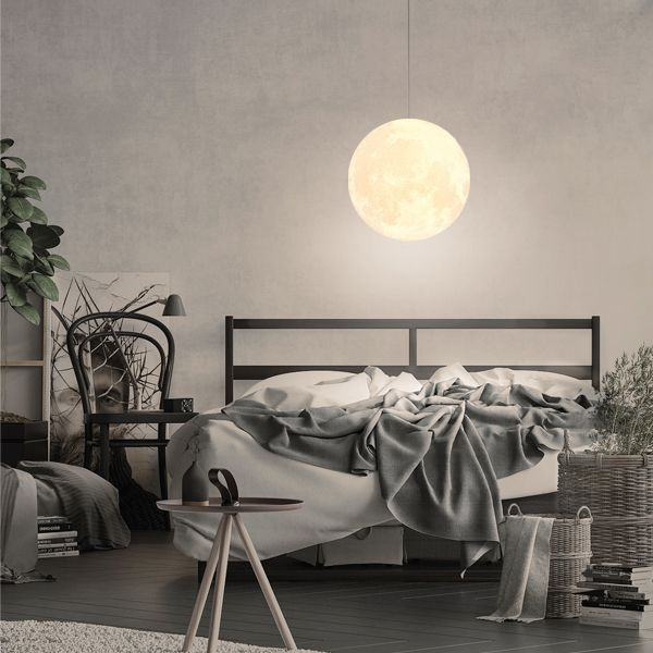 product image for Zeegine 3D Printed Moon Pendant Light