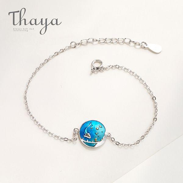 Thaya Sea of Stars Dolphin Bracelet