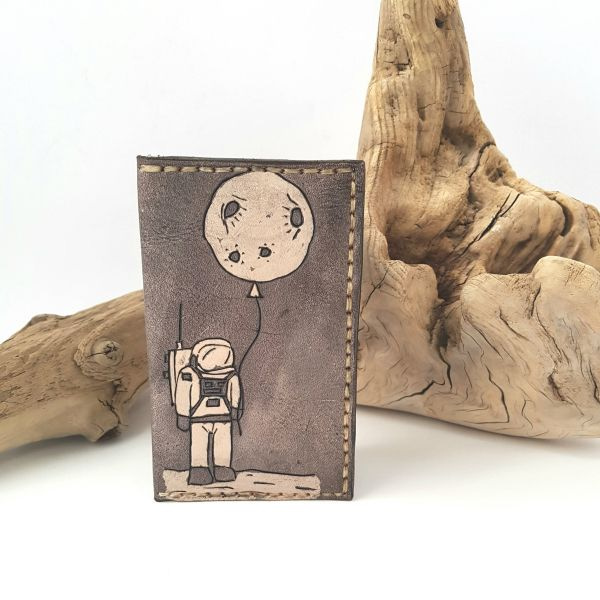 Astronaut Leather Wallet