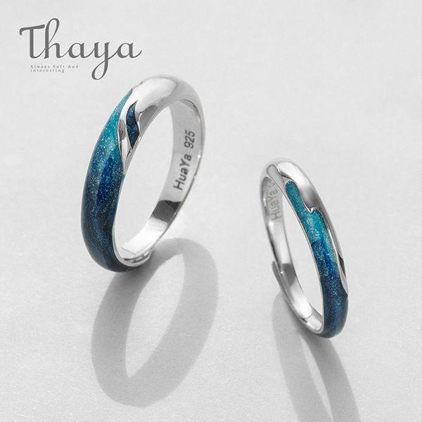 Thaya Bright Shining River Rings